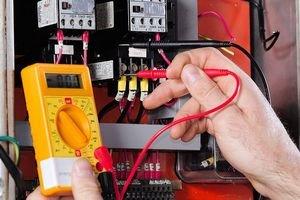 Проверка электрического щитка с помощью тестера